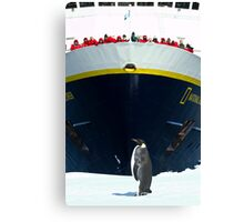 The Emperor Holding Court Canvas Print
