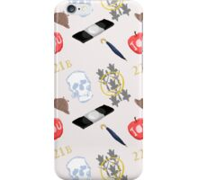 Sherlock Pattern iPhone Case/Skin