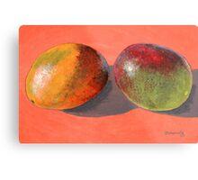 multi-colored mangoes Metal Print