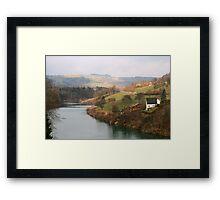 Landscape in Austria Framed Print
