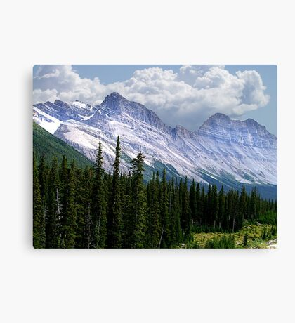 Introduction to Banff Canvas Print