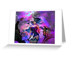 Allegory of one night love and peace 012 20 09 2015 Greeting Card