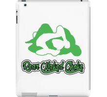 Rear Naked Choke Mixed Martial Arts Green 2 iPad Case/Skin