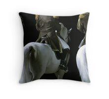 Lipizzaner Stallions Throw Pillow