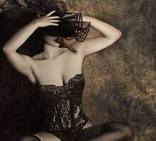 Sensuality in Sepia - Self Portrait by Jaeda DeWalt
