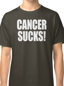Cancer Sucks Disease Classic T-Shirt