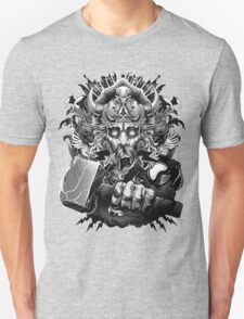 Thor Looking Dude with Hammer T-Shirt