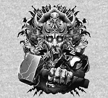 Thor Looking Dude with Hammer Unisex T-Shirt