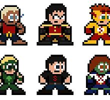 8-bit Young Justice by 8 Bit Hero