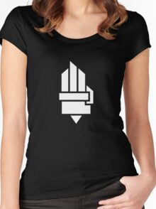 The Hunger Games - Hand (Dark Version) Women's Fitted Scoop T-Shirt