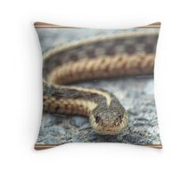 SERPENT IN PENCIL Throw Pillow