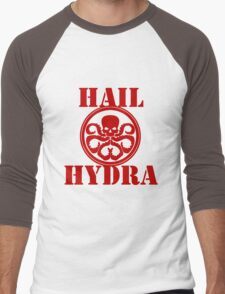 Hail Hydra! Men's Baseball ¾ T-Shirt