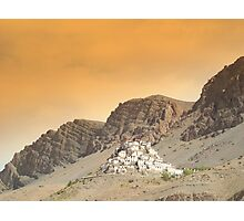Kaza Monastery Photographic Print