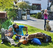 The Hawkshead Busker's Audience by VoluntaryRanger