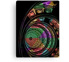 Capital Dome Abstract Canvas Print