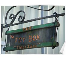 Dad's Toy Box Poster