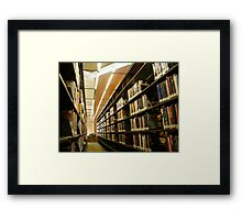 What are libraries for? Framed Print