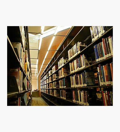 What are libraries for? Photographic Print