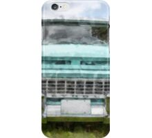 1963 Chevy Suburban Watercolor iPhone Case/Skin