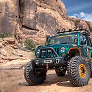 Superlift's Big Green Jeep by steini
