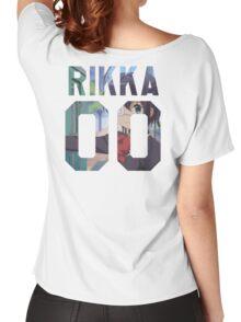 RIKKA TAKANASHI 00 - BACKPIECE Women's Relaxed Fit T-Shirt