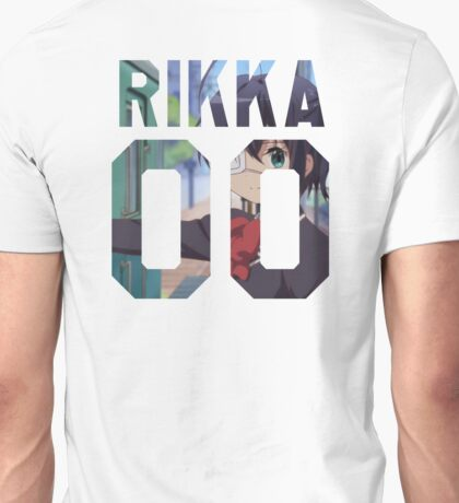 RIKKA TAKANASHI 00 - BACKPIECE Unisex T-Shirt