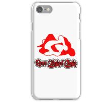 Rear Naked Choke Mixed Martial Arts Red 2 iPhone Case/Skin