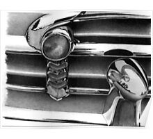 Chevy Chrome Poster