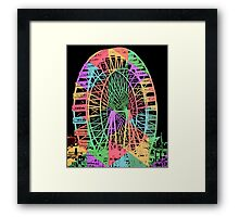 Carnival Ride Framed Print