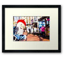Food Truck Gnome I Framed Print