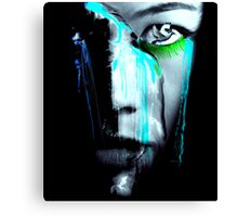"""Crying Mother Earth """"global warming series"""" Canvas Print"""