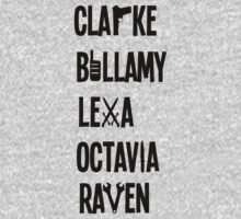 The 100 Names by peoplelikegrace