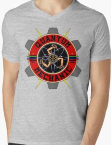 QUANTUM MECHANIC Mens V-Neck T-Shirt