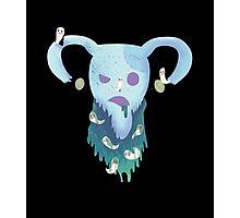 Pastel Goth Zombie Uterus Photographic Print
