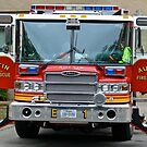 Fire / Rescue Engine #1 -Downtown - Austin Texas Series - 2011 by Jack McCabe