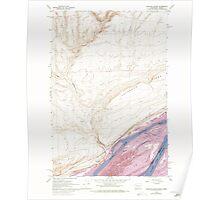 USGS Topo Map Washington Blalock Island 240106 1962 24000 Poster