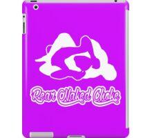 Rear Naked Choke Mixed Martial Arts White 2 iPad Case/Skin