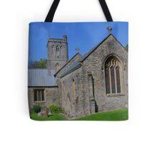 St Michael's Church, Brent Knoll Tote Bag