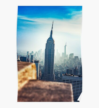 Empire State Building New York Poster