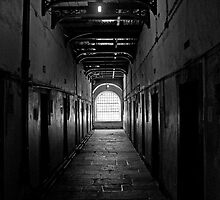 Corridor in Kilmainham gaol by Esther  Moliné