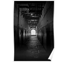 Corridor in Kilmainham gaol Poster