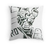 Judge Dredd Throw Pillow