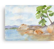 Vancouver Island Jewel Canvas Print