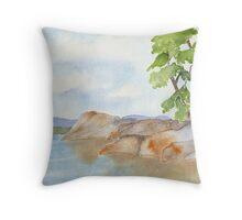 Vancouver Island Jewel Throw Pillow