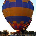 Balloons at Canowindra - Sunrise Launch by DashTravels