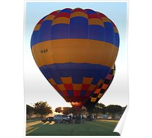 Balloons at Canowindra - Sunrise Launch Poster