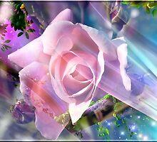 Dream rose by MONIGABI