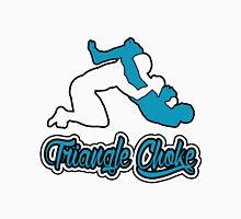 Triangle Choke Mixed Martial Arts Blue  Unisex T-Shirt