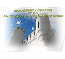 2000 members banner Poster