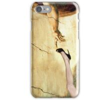 Touched by the hand of god iPhone Case/Skin